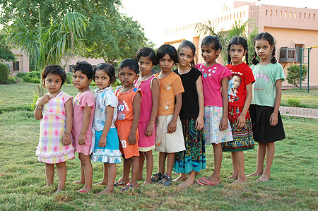 Kids at Vatsalyagram